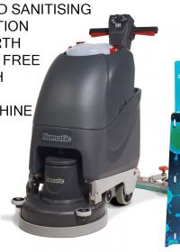 Numatic TT4045G Mains Driven Scrubber Dryer