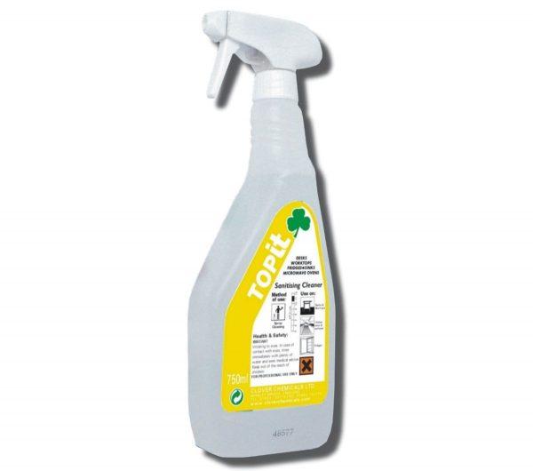 TopIT Sanitising Cleaner 750ml Spray