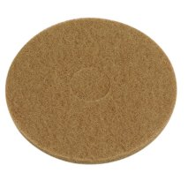 Box of 5 Thick Tan Polishing Floor Pads