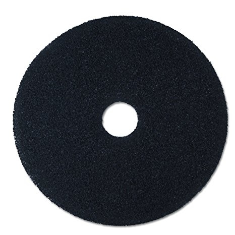 Box of 5 Thick Black Stripping Floor Pads