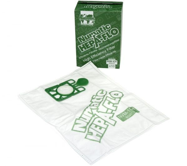 Pk of 10 1CH Genuine Henry Hepa-Flo Bags