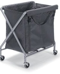 Waste/Laundry Collection Folding Trolley with Bag