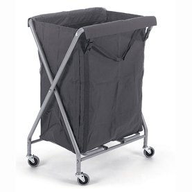 NX2001 Waste/Laundry Collection Folding Trolley 1 x 200L Bag.-2620