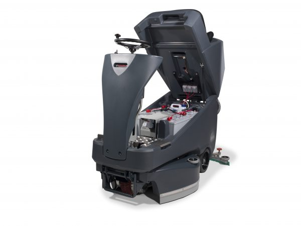 Vario TTV.678G/300T Ride-On Scrubber Dryer Battery c/w Brushes, Batteries & Charger
