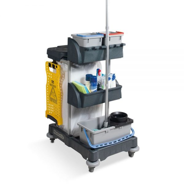 XC1G Trolley c/w Mop Bkt& 120L Waste from Numatic