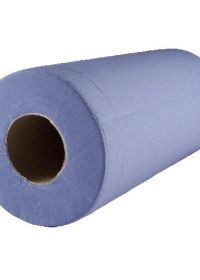 "Box of 24 10"" Blue Rolls 2 Ply"
