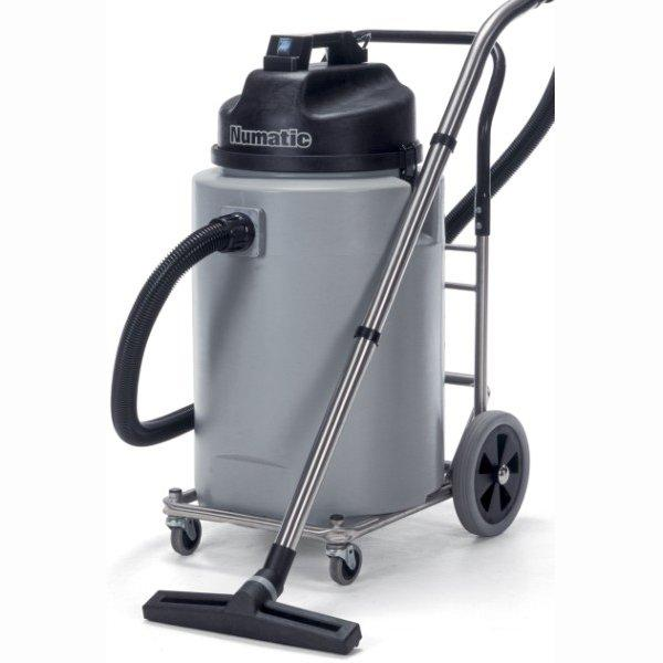 Numatic WVD2000DH 240v Large Wet Vac c/w Hose S/S Wand & Floor Tool-0