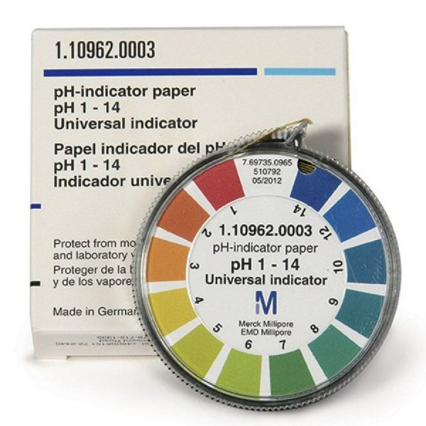 PH Test Paper Colour Coded Reel
