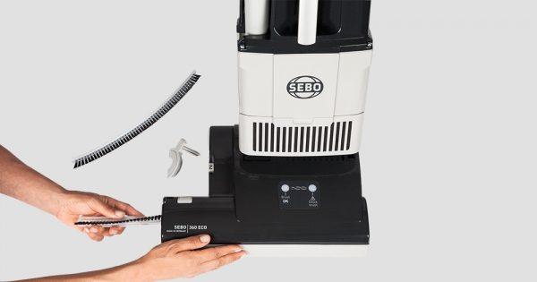 Sebo BS360 ECO Upright Vacuum Cleaner Twin Motor 2018 Model
