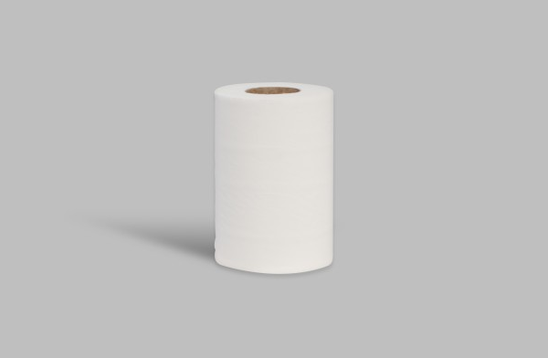 12 x Centre Feed Mini 2 Ply White Rolls