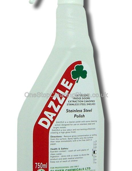750ml Dazzle Stainless Steel Polish Trigger Spray
