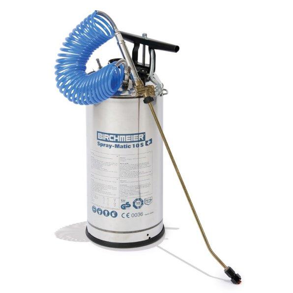 10Ltr Stainless Steel Pressure Sprayer