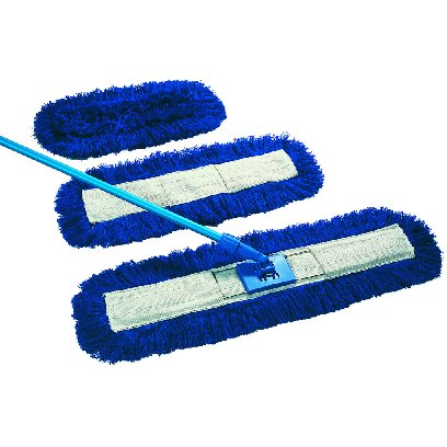 "24""/60cm Sweeper Mop c/w Handle & Frame-0"