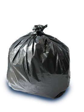 REFUSE SACKS BLACK BIN LINERS RECYCLED 1