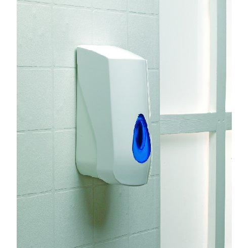 1L Soap Dispenser Blue Drop Design Refil