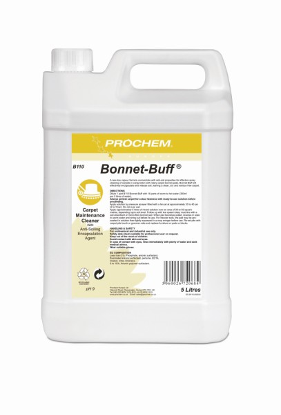 5L Bonnet Buff Carpet Cleaner