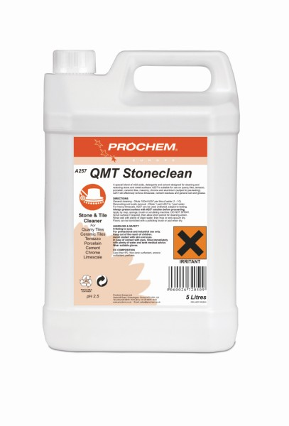 5L Stone & Tile Clean Acidic Cleaner for Terrazzo etc QMT-0