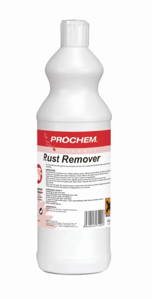 RUST REMOVER CARPET CLEANING PROCHEM