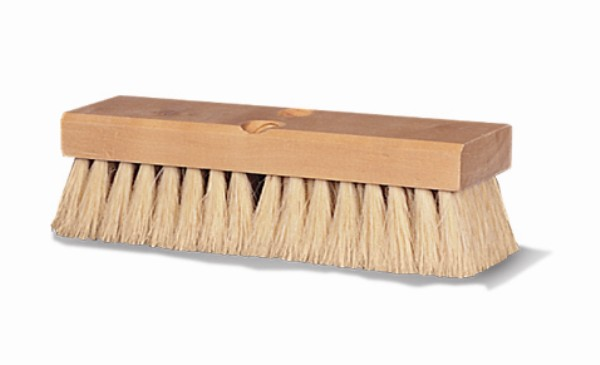 "10"" Carpet Brush Natural Fibre Head Only"