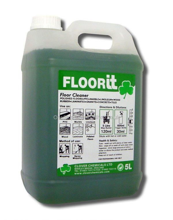 CLOVER CHEMICAL FLOOR IT NEUTRAL FLOOR CLEANER 5 LITRE