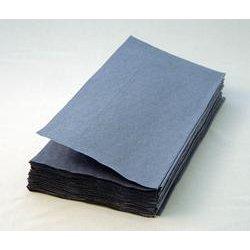 KATRIN ZIG ZAG BLUE INTERFOLD HAND TOWELS