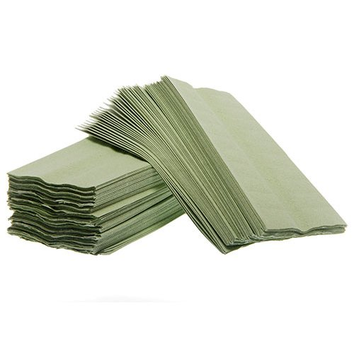 Green C Fold Hand Towels boxed 2688 CFG001