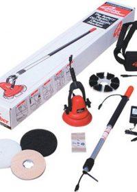 Motor Scrubber - Battery Driven Scrubber with Medium Handle No Spray