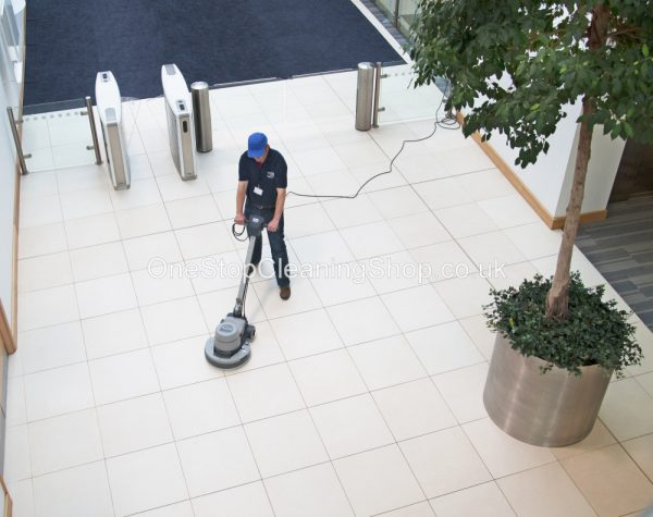 NRT1530 Twin Speed Floor Polisher/Scrubber c/w Drive Board