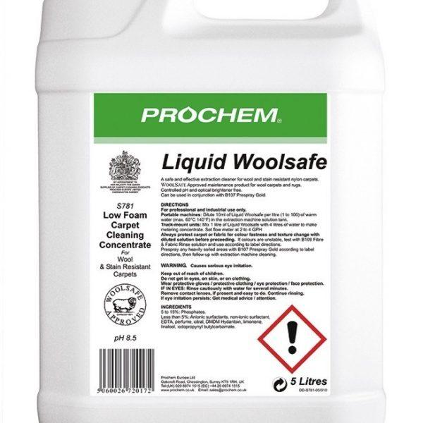 5L Prochem Liquid Woolsafe