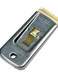Unger Scraper Safe Retracting Steel/Brass