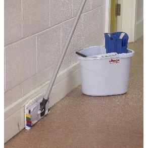 UltraSpeed Mini Blue Mopping Kit inc Bucket, Wringer, Frame & Mop Head - NO HANDLE-3049