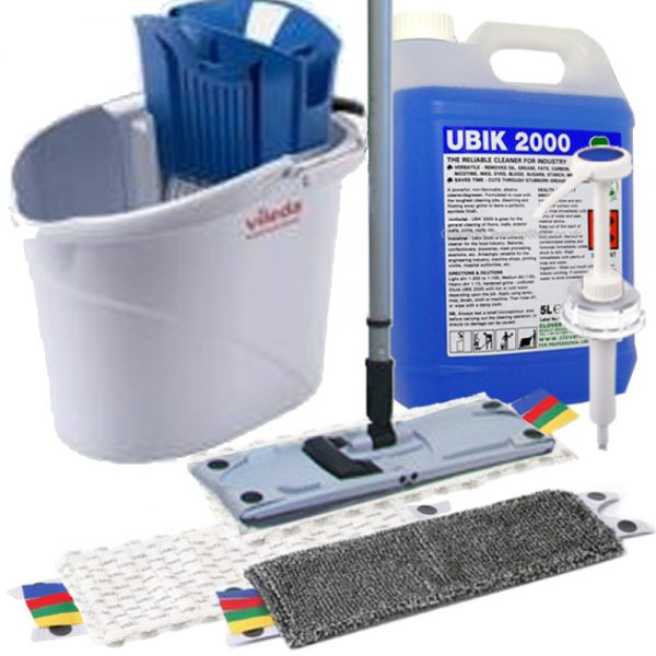 Small Safety Floor Mopping Kit