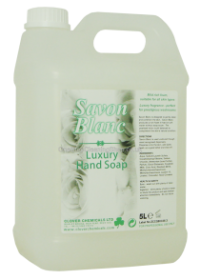 Clover Savon Blanc White Pearlised Liquid Soap
