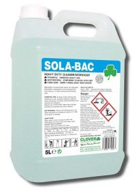 5L Sola-Bac Heavy Duty Bactericidal Cleaner