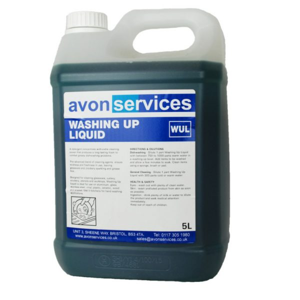 5L Washing Up Liquid New Formulation
