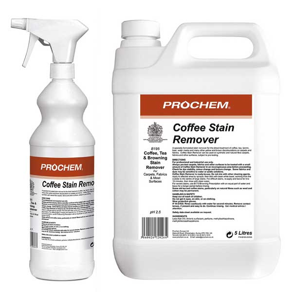 Prochem Coffee & Tea Stain Remover Chemical