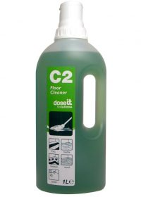 1L C2 Dose IT Super concentrated Green Floor Cleaner - 2 Doses per 5L