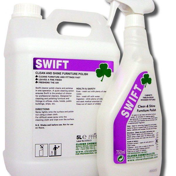 Clover Swift Liquid Furniture Polish