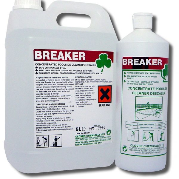 Clover Breaker Heavy Duty Cleaner & Descaler
