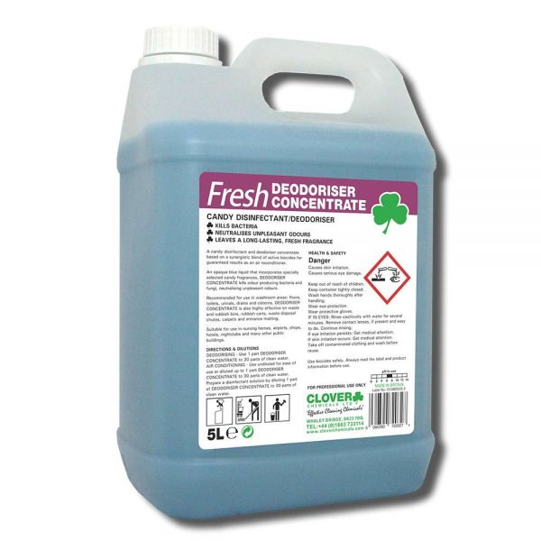 5L Fresh Disinfectant Deodoriser Concentrate Candy