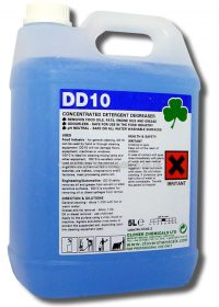 5L DD10 Detergent Degreaser - Highly Effective