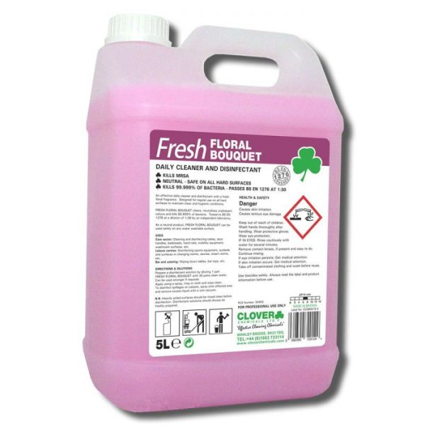 5L Fresh Floral Bouquet Daily Cleaner Disinfectant Deodouriser