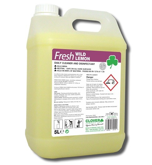 Fresh Wild Lemon 5L - Cleaner Disinfectant