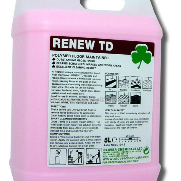 5L Renew TD - Polymer Floor Maintainer