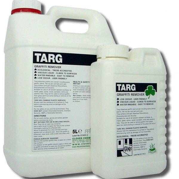 Clover Targ Graffiti Remover Chemical