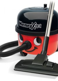 Numatic Henry Hoover HVX 200-A2 Xtra - Cylinder Vacuum - Black, Red