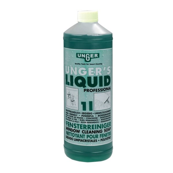 Unger Liquid Window Cleaning Soap - Dilute 1:100