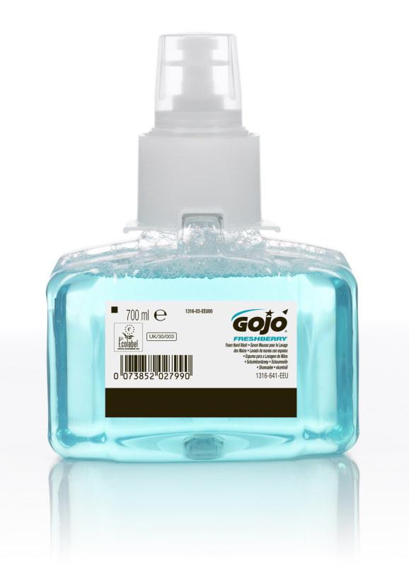 LTX FRESHBERRY FOAM HAND SOAP GOJO 700ML X 3