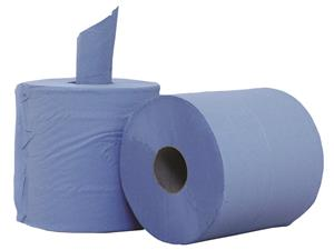 100% recycled blue roll