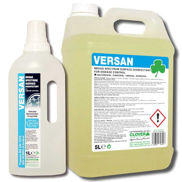 Clover Dose IT Versan - Disinfectant Cleaner Sanitiser Chemical